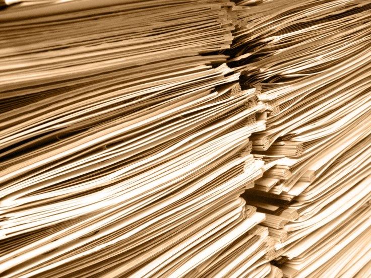 legajo de documentos